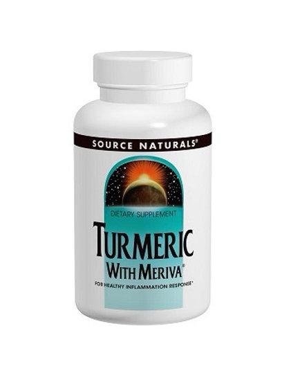 Source Naturals - Turmeric with Meriva 500 mg 60 capsules