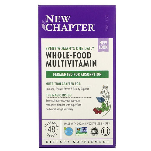 New Chapter - Every Woman's One Daily Multi 48 tablets