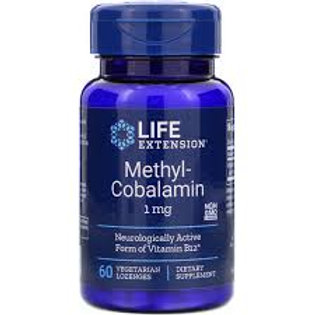Methylcobalamin 1 mg, 60 vegetarian lozenges (to be dissolved in the mouth)