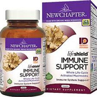 New Chapter LifeShield™ Immune Support Mushrooms 60 capsules