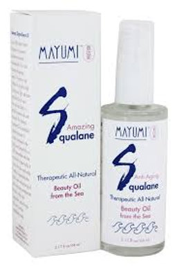 Mayumi Amazing Squalane Beauty Oil From the Sea 1.12 oz.