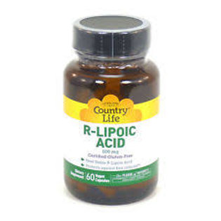 Country Life R-Lipoic Acid 100 mg 60 Vegan Caps