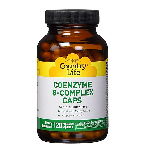 Country Life - Coenzyme B-Complex Caps 120 veg capsules
