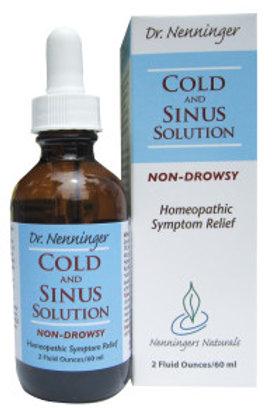 Dr. Nenninger - Cold & Sinus Solution 2 oz.