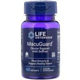 MacuGuard® Ocular Support with Saffron 60 softgels