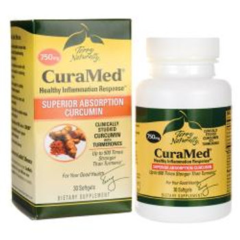 Terry Naturally CuraMed® Curcumin 750 mg 30 Softgels