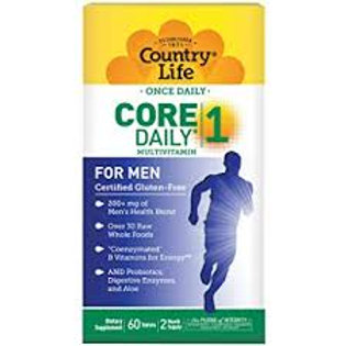 Country Life - Core Daily-1 for Men 60 tablets