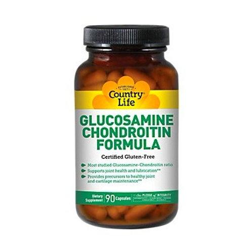 Country Life - Glucosamine Chondroitin Formula 90 capsules
