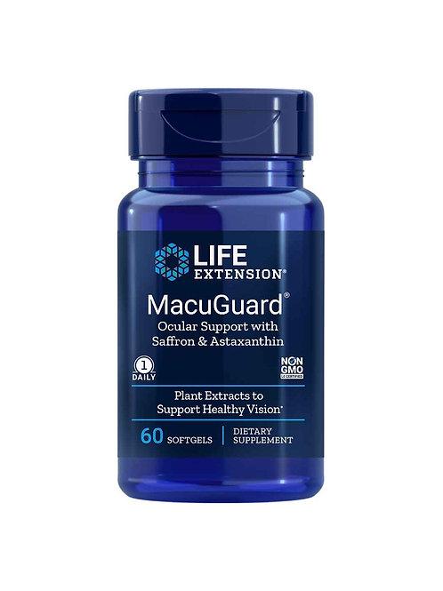 MacuGuard® Ocular Support with Saffron & Astaxanthin 60 softgels