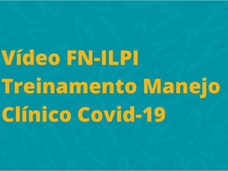 Treinamento Manejo Clínico Emergência Covid-19 disponível em vídeo