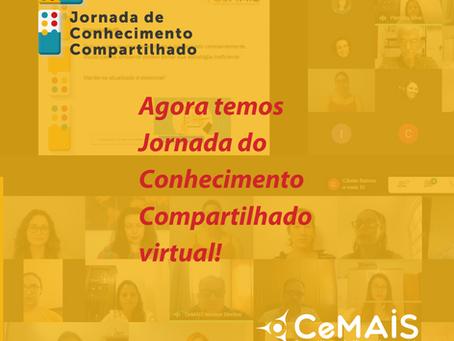Jornada do Conhecimento Compartilhado ganha versão virtual