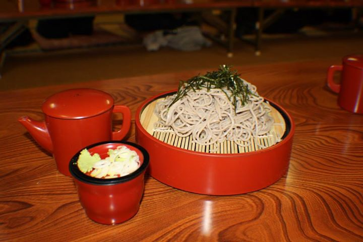 Traditional Soba noodles--oh so good