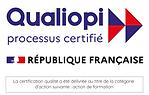 logo qualiopi avec mention action de for