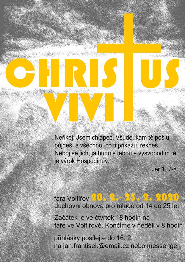 Duchovní obnova Christus vivit pro mladé