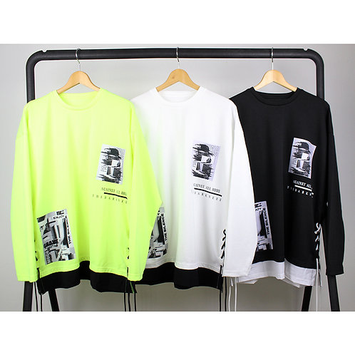 130612(20AW-74)レースアップ切替TEE