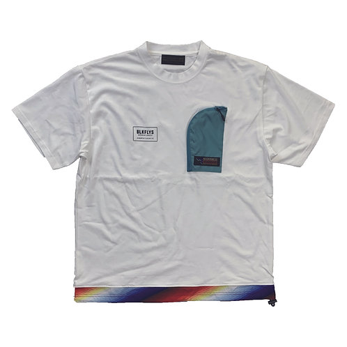 812402(WD22SS-BF03)  WD×BF Nylon switching TEE  ¥6900