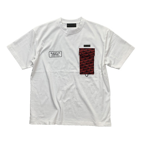 812401(WD22SS-BF02)  WD×BF Pattern pocket TEE  ¥6900