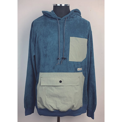 831501(WD21AW-08)  POLY SUEDE POCKET PARKA   ¥7.900