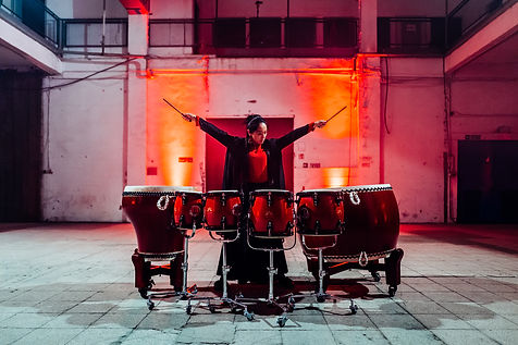 chinese drums _ lin chen