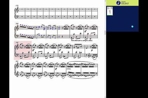 Beethoven piano concerto No 1, Mov. 3.