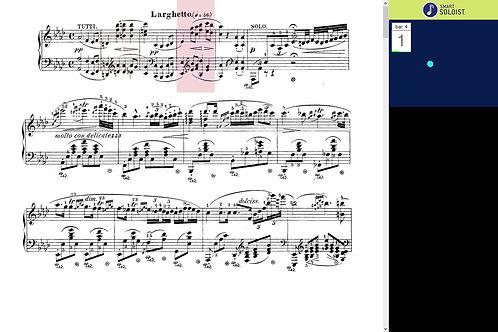 Chopin piano concerto No 2, Mov. 2.