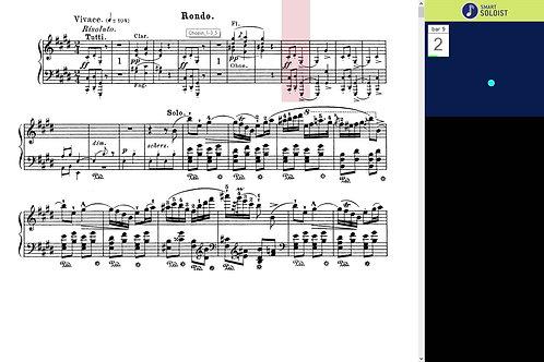 Chopin piano concerto No 1, Mov. 3.