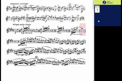 Mendelssohn violin concerto in E minor, Mov. 3.