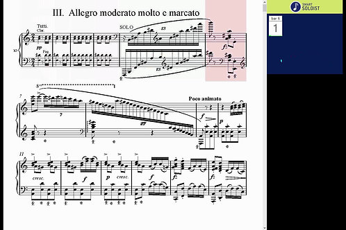 Grieg piano concerto, Mov. 3.