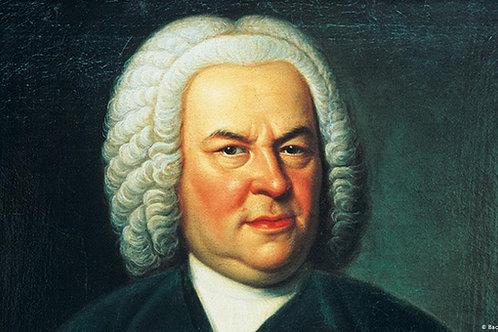 J. S. Bach piano concerto in D major, BWV 1054, Mov. 2.