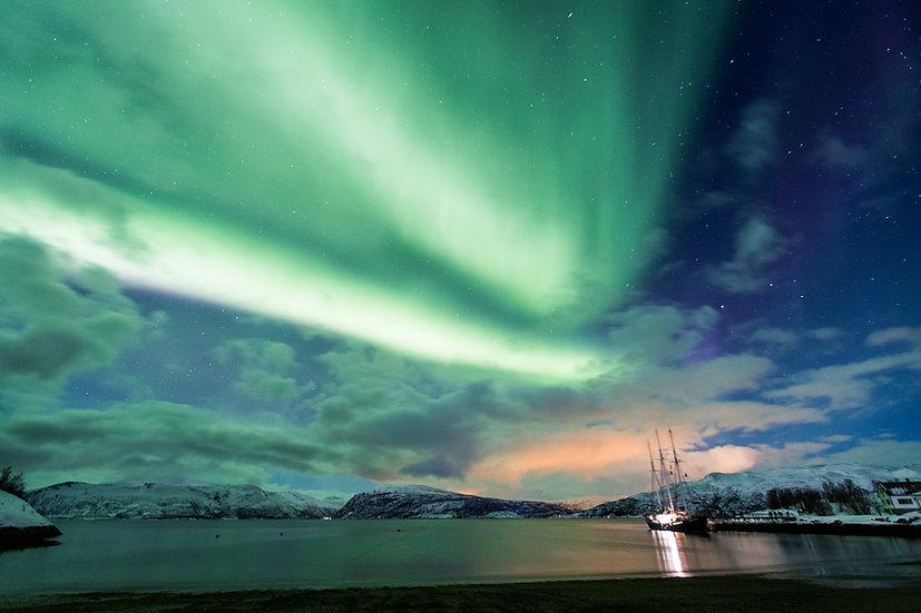 7 Nights North Norway, Aurora Borealis - Hike & Sail