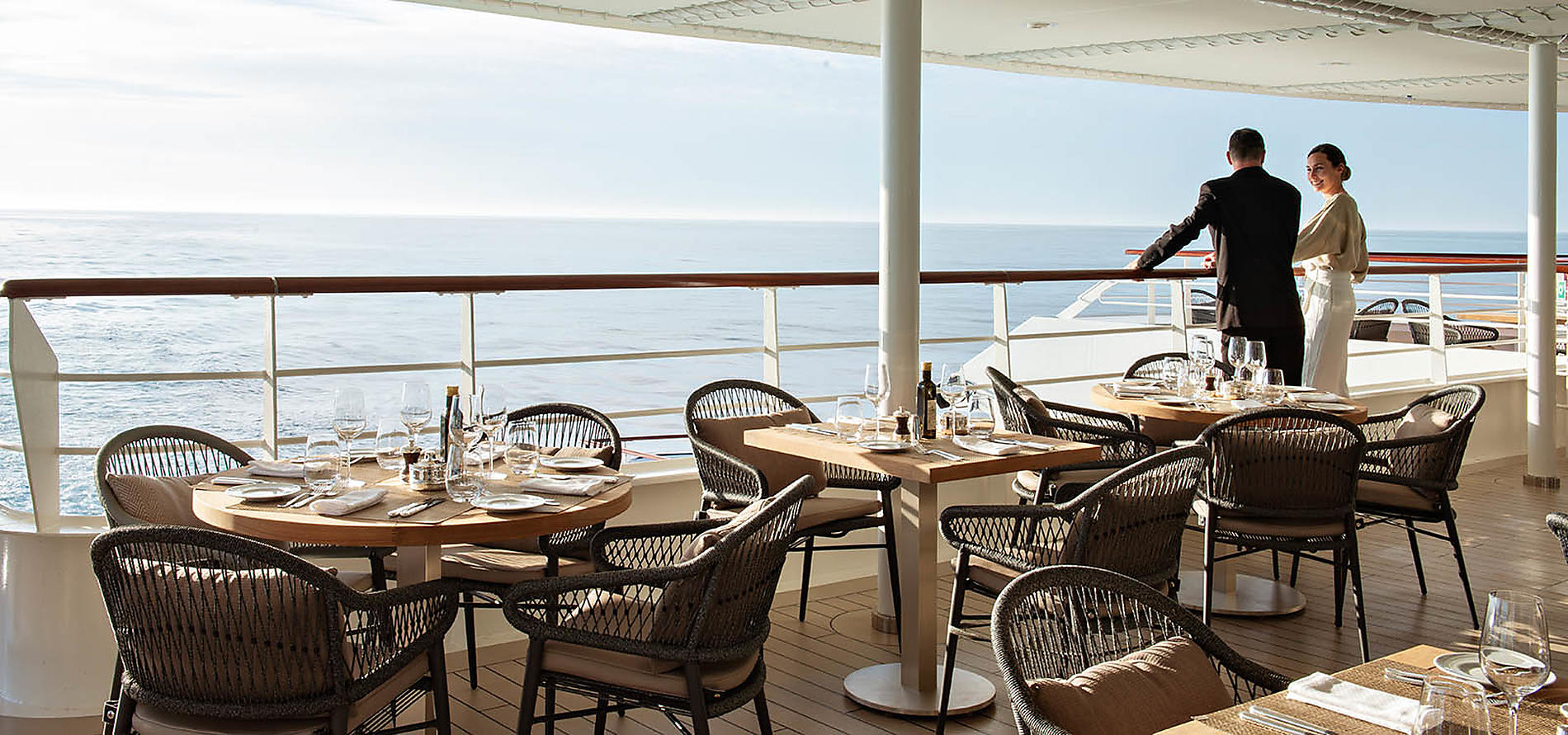 Le Jacques Cartier Open Deck