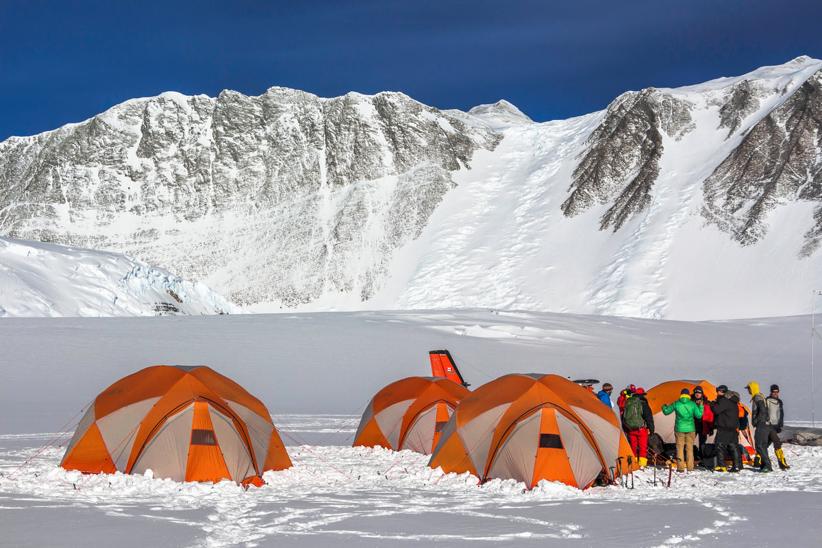 Mount Vinson Camp