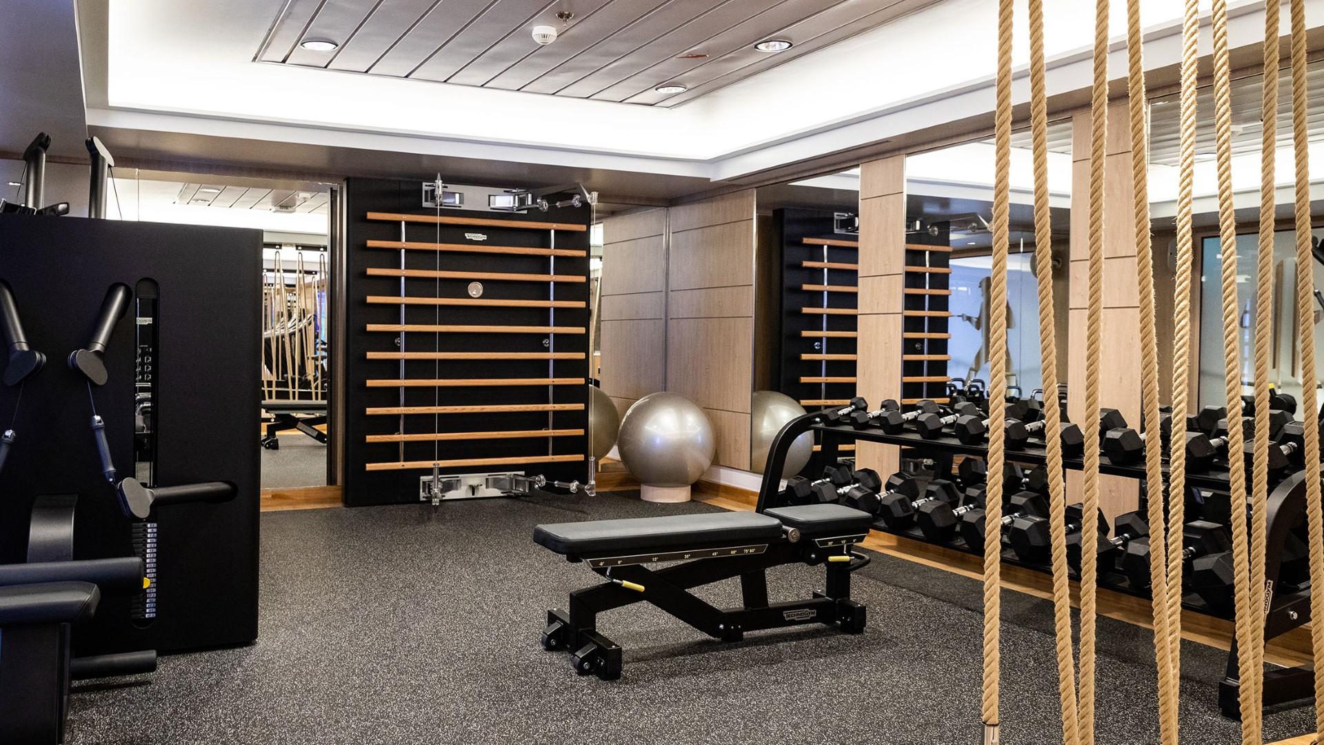 MS Roald Amundsen Gym
