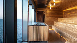 MS Roald Amundsen Sauna