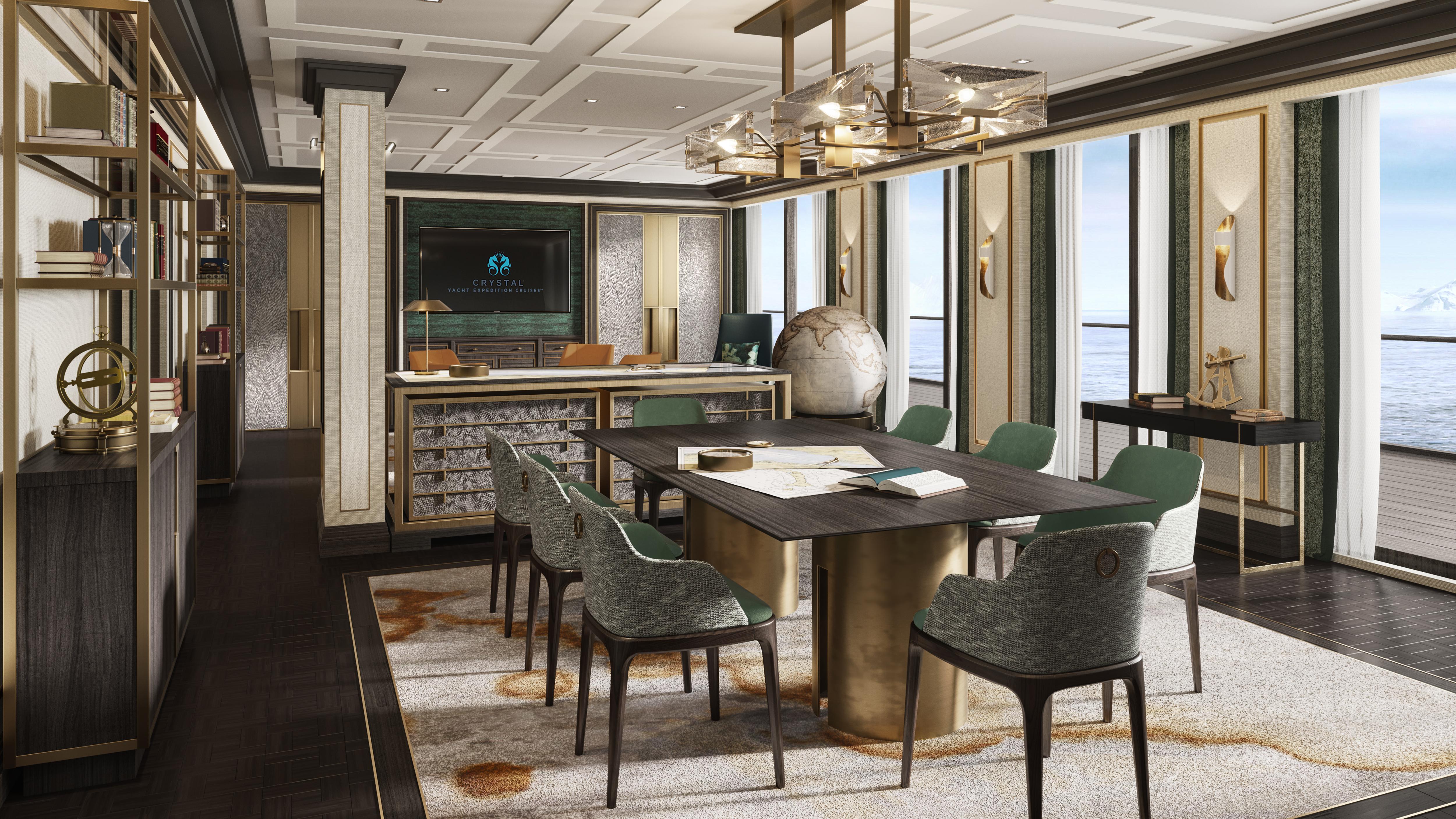 Crystal Endeavor Lounge