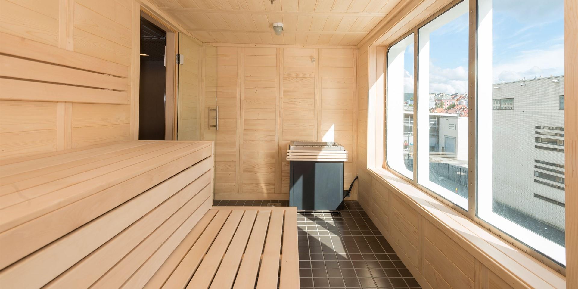 MS Spitsbergen Sauna