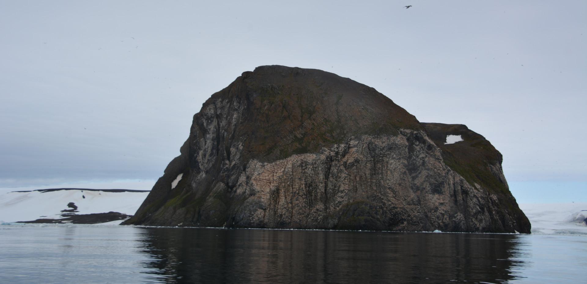 Rubini Rock, Hooker Island, Franz Josef Land