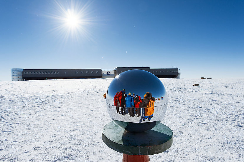 9 Days South Pole Flight Expedition