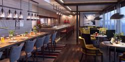 MS Roald Amundsen Fredheim Restaurant