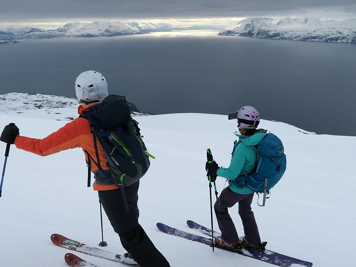 7 Nights Alpine Peaks of North Norway, Ski & Sail