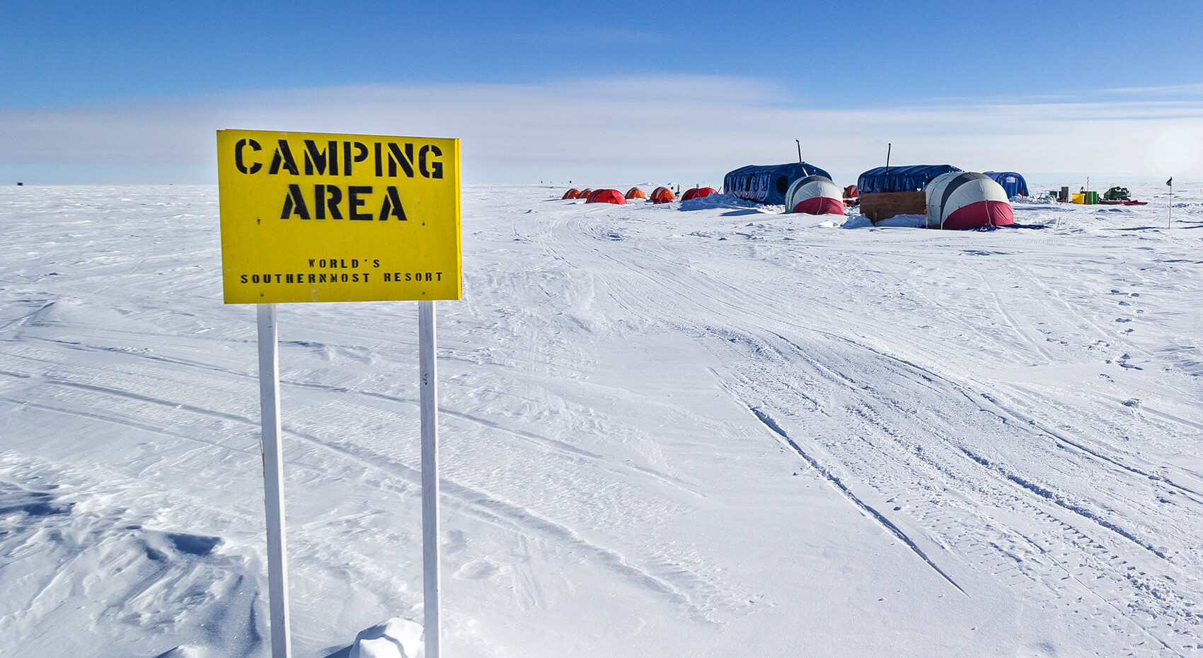 South Pole Camp