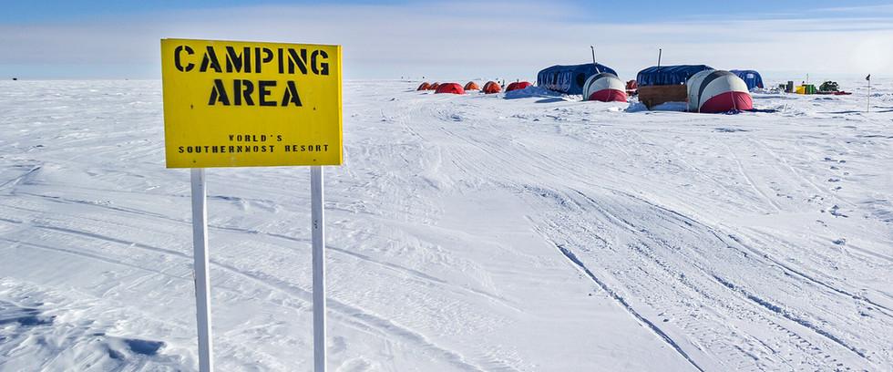 South Pole Camp