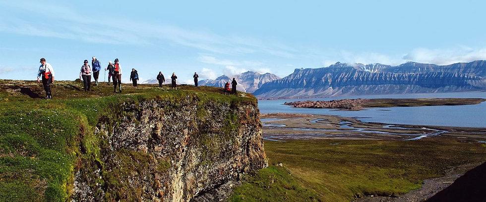 10 Nights Hiking in Svalbard