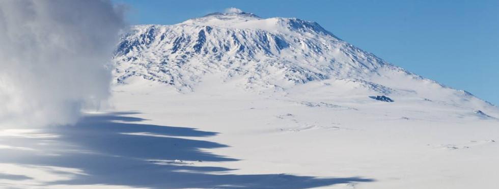 Ross Island - Mt. Erebus