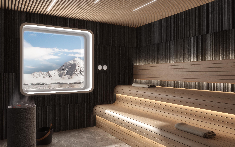 Crystal Endeavor Spa Sauna