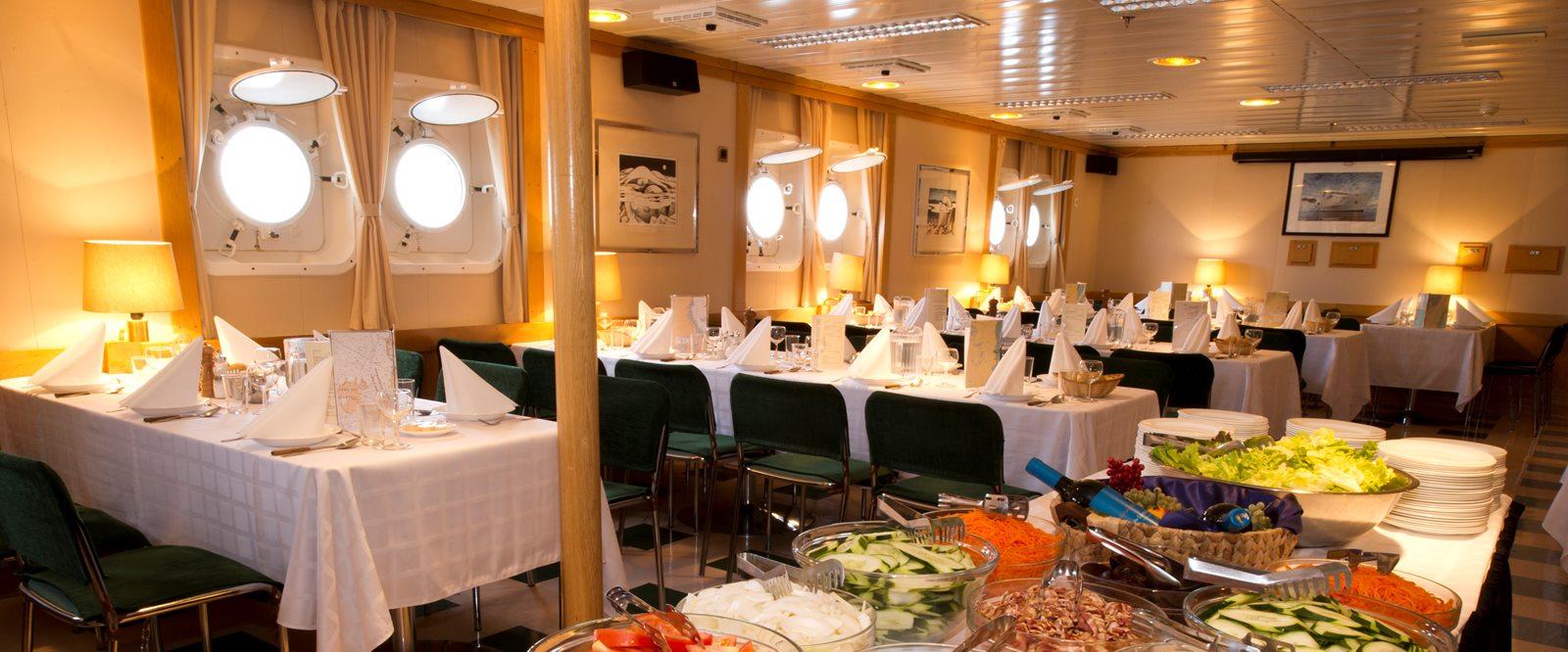 Akademik Ioffee Dining Room