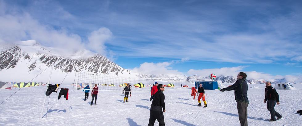 Unioin Glacier Camp