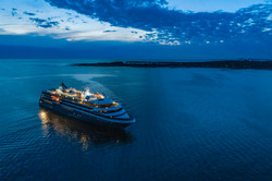 World Navigator Night at Sea