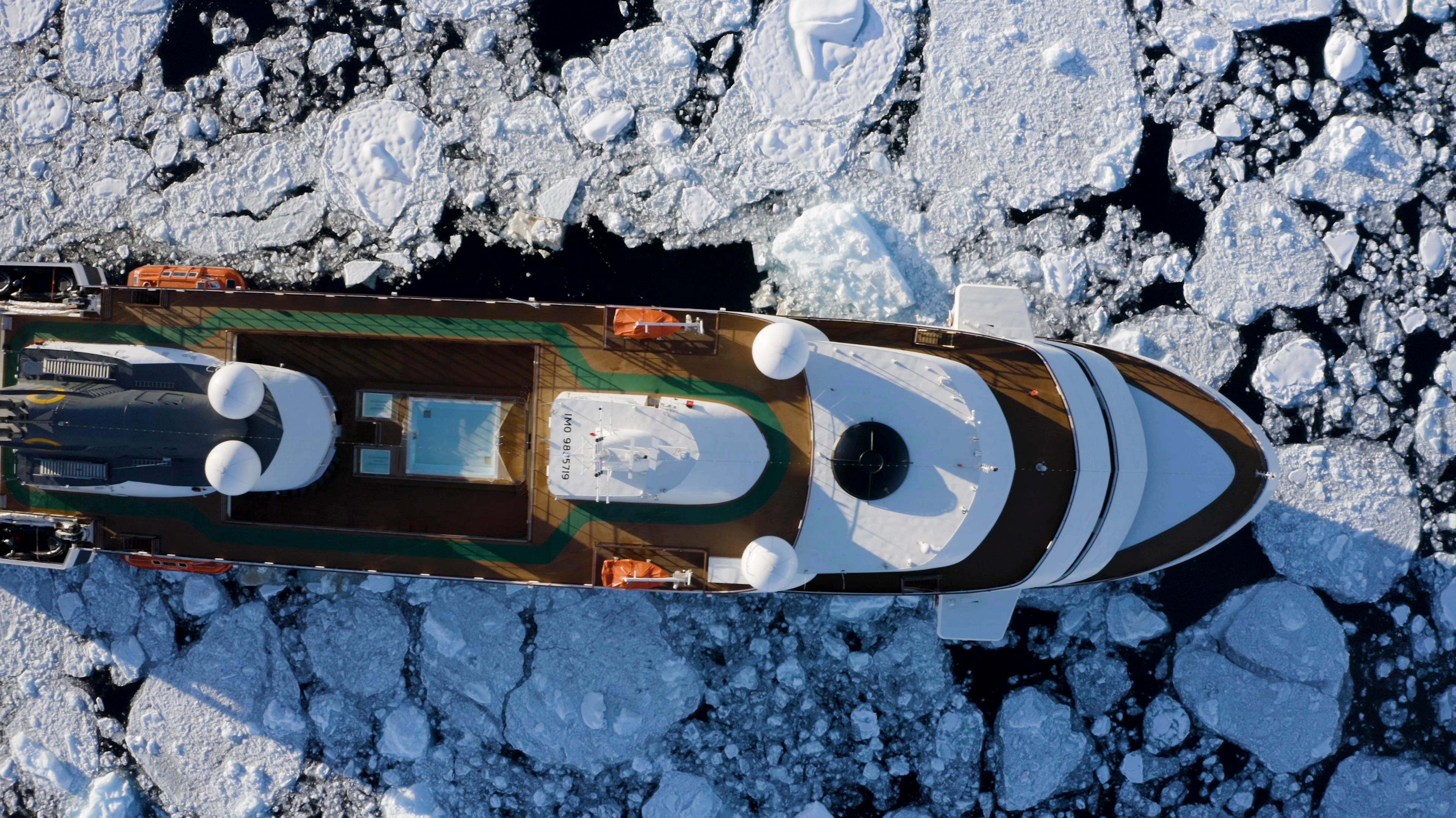 World Explorer_Exterior_ Antarctica Dron