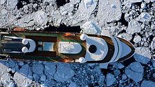 World Explorer_Exterior_ Antarctica Drone_Credit Drone pilot - Guillaume Marion - HQ Pilot